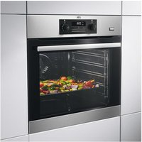 AEG BES351210M Built In Multifunction Electric Single Oven in St Steel