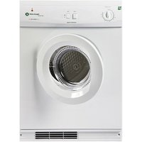 White Knight ECO43AW 7kg Gas Tumble Dryer in White Multifunction