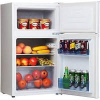 Amica FD171 4 50cm 2 Door Undercounter Fridge Freezer in White A