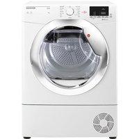 Hoover HLC9DCE 9Kg Condensor Tumble Dryer in White Sensor B Energy