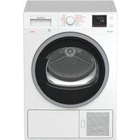 Blomberg LTH3842W 8kg Heat Pump Tumble Dryer in White Sensor A