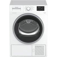 Blomberg LTS2932W 9kg Condenser Dryer in White Sensor A Heat Pump