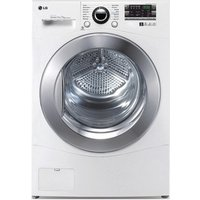 LG RC7066A2Z 7kg Condenser Tumble Dryer in White B Energy Rated