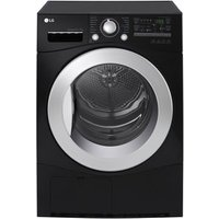 LG RC7066B2Z 7kg Condenser Tumble Dryer in Black B Energy Rated