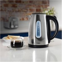 Tower T10015P 1 7 Litre Jug Kettle in Polished St Steel 3 0 kW Rapid