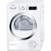 Bosch WTW87560GB 9kg Serie 8 Condenser Tumble Dryer in White A