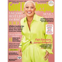 GOOD HOUSEKEEPING half price special offer on subscriptions.