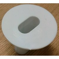 'Twin Cable Tidy Grommet White