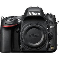 Nikon D610 Digital SLR Camera Body - Black