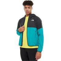 'The North Face Flyweight Hooded Jacket - Mens - Fanfare Green/black