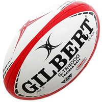 Gilbert G-tr4000 Training Rugby Ball - White/red