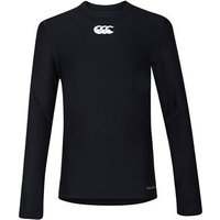 Canterbury Thermoreg Long Sleeve Baselayer Top - Youth - Black