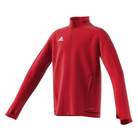 Adidas Tiro 17 Plain Training Jacket - Youth - Red