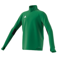 Adidas Tiro 17 Plain Training Top - Youth - Green/black/white