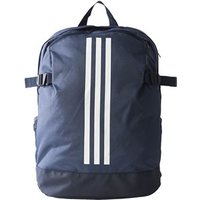 Adidas 3-stripe Power Schoolbag/backpack - Trace Blue/legend Ink/white