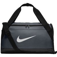 Nike Brasilia Duffle Bag - Small - Flint Grey/black/white