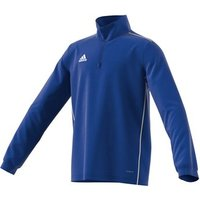 Adidas Core 18 Training Top - Youth - Bold Blue/white