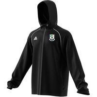 adidas Club Na Fianna CLG Core 18 Rain Jacket - Adult - Black/White