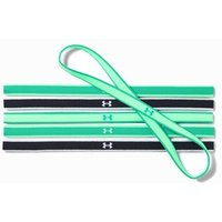 Under Armour Mini Headbands (6pk) - Black/green Malachite/white