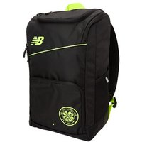 New Balance Celtic Fc 2018/19 Schoolbag/backpack - Medium - Black/hi-lite