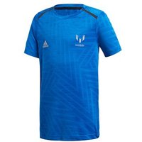Adidas Messi Icon Tee - Youth - Blue