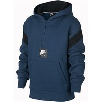 Nike Air Half Zip Pull Over - Boys - Blue Force/black