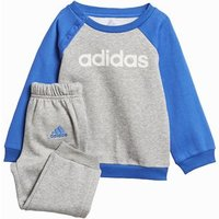 Adidas Linear Jogger Tracksuit - Boys - Grey/blue