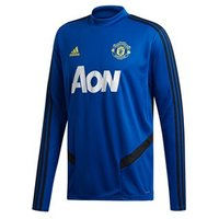 adidas Manchester United FC Official 2019/20 Long Sleeve Training Top - Adult - Royal