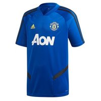 Adidas Manchester United Fc Official 2019/20 Training Jersey - Adult - Royal/black