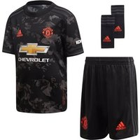 Adidas Manchester United Fc Official 2019/20 Third Mini Kit - Youth - Black