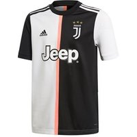 Adidas Juventus Fc Official 2019/20 Short Sleeve Home Jersey - Adult - Black/white