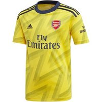 Adidas Arsenal Fc Official 2019/20 Short Sleeve Away Jersey - Youth - Yellow