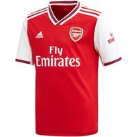 Adidas Arsenal Fc Official 2019/20 Short Sleeve Home Jersey - Youth - Scarlet