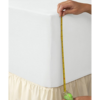 "Extra Deep Fitted Sheet (Up to 16"")"