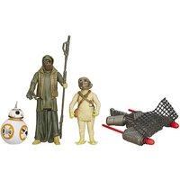 Star Wars The Force Awakens 3 Figure Pack - BB-8, Unkars Thug & Jakku Scavenger