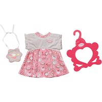 Baby Annabell Day Dress - White and Pink - Baby Annabell Gifts