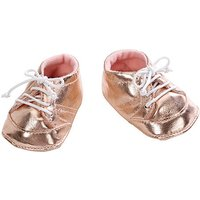Baby Annabell Shoes - Gold - Baby Gifts