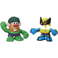 Mr. Potato Head Mashable Heroes 2 Pack - Hulk & Wolverine - Hulk Gifts