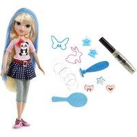 Moxie Girlz Magic Hair Stamp Designer - Avery Doll - Doll Gifts