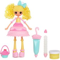 Lalaloopsy Girls Cake Fashion Doll    Candle Slice O  Cake