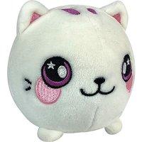 Squeezamals Plush - White Cat - Animagic Gifts