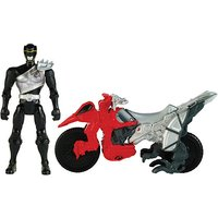 Power Rangers Dino Charge Cycle With Black Ranger Figure - Power Rangers Gifts