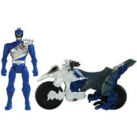 Power Rangers Dino Charge Cycle With Blue Ranger Figure - Power Rangers Gifts
