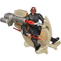 Star Wars Hero Mashers Sith Speeder & Darth Maul Figure - Star Wars Gifts