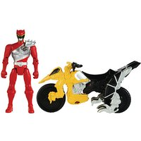 Power Rangers Dino Charge Cycle With Red Ranger Figure - Power Rangers Gifts