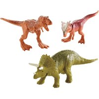 Jurassic World Mini Dino 3 Pack - Triceratops, Sygimoloch and Metallic T-Rex