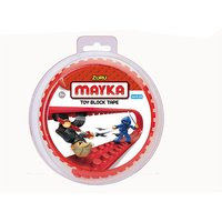 Mayka Tape - 2 Stud Red 1 Metre