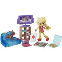 My Little Pony Equestria Girls Minis Applejack's Slumber Party Games Playset - Games Gifts