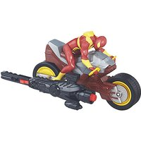 Marvel Ultimate Spider-Man vs. The Sinister Six Blast N' Go Racers - Iron Spider Cycle - Spider Gifts
