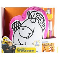 Despicable me 3 Colour Your Own - Fluffy Doodle Buddy Cushion - Despicable Me Gifts